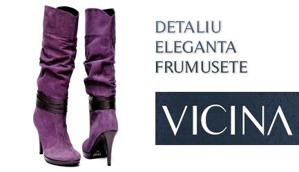 Tendinte toamna-iarna 2011/2012: <b>Cizme de calitate, Design original, Brand de renume (35 de ani) - VICINA</b>. OCAZIE UNICA: Cu un voucher de 10 RON obtii o <b>reducere de 120 RON</b> la oricare dintre modelele de <b>cizme</b> de pe site-ul <b>www.vicina.ro</b>, Poza 1