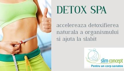 Slabeste si elimina toxinele cu detoxifierea naturala a organismului! <b>SLIM CONCEPT</b> te asteapta cu o SUPER PROMOTIE: <b>tratament DETOX SPA cu numai 11 RON</b>, Poza 1