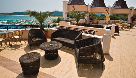 Vacanta de vis si relax total la <b>Duni Royal Resort - Hotel Marina Beach 5*</b>! Cumpara <b>voucherul de 20 ron</b> si <b>platesti doar 369 euro/persoana in camera dubla</b> in loc de 420 euro, pentru <b>un sejur de 7 nopti, all inclusive</b>. Copii sub 13 ani gratuit!, Poza 2