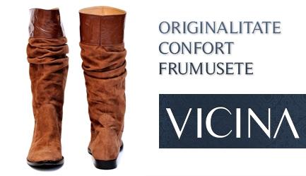 Tendinte toamna-iarna 2011/2012: <b>Cizme de calitate, Design original, Brand de renume (35 de ani) - VICINA</b>. OCAZIE UNICA: Cu un voucher de 10 RON obtii o <b>reducere de 120 RON</b> la oricare dintre modelele de <b>cizme</b> de pe site-ul <b>www.vicina.ro</b>, Poza 5
