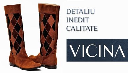 Tendinte toamna-iarna 2011/2012: <b>Cizme de calitate, Design original, Brand de renume (35 de ani) - VICINA</b>. OCAZIE UNICA: Cu un voucher de 10 RON obtii o <b>reducere de 120 RON</b> la oricare dintre modelele de <b>cizme</b> de pe site-ul <b>www.vicina.ro</b>, Poza 6